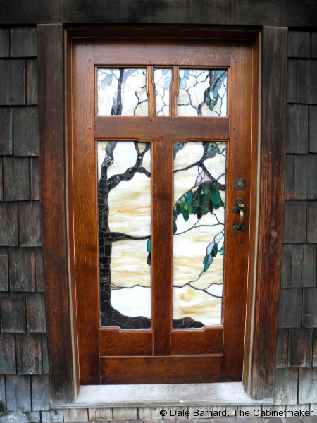 Entry Gamble House Door