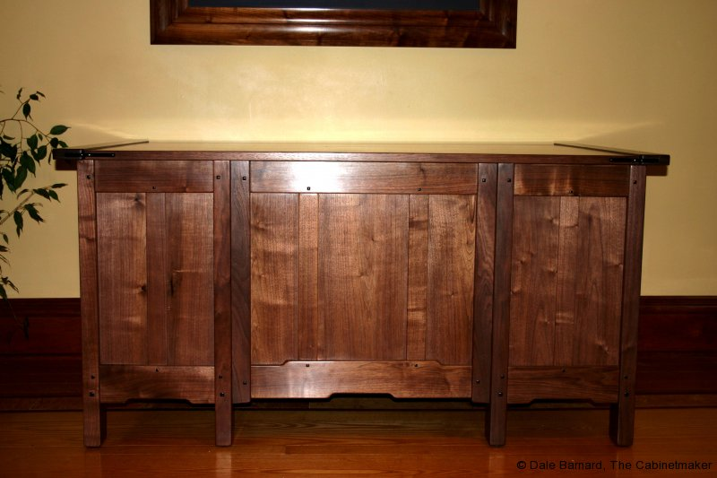 Walnut G&G Desk back