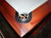 G&G style pool table close up