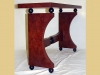 Art Deco hall table-details