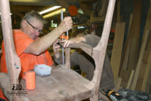 Barnard Woodworking School Students