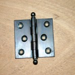 Pair of 2″ x 2″ Ball Tipped Extruded Brass Hinges
