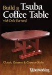 NEW! Instructional DVD- Build a Tsuba Coffee Table with Dale Barnard